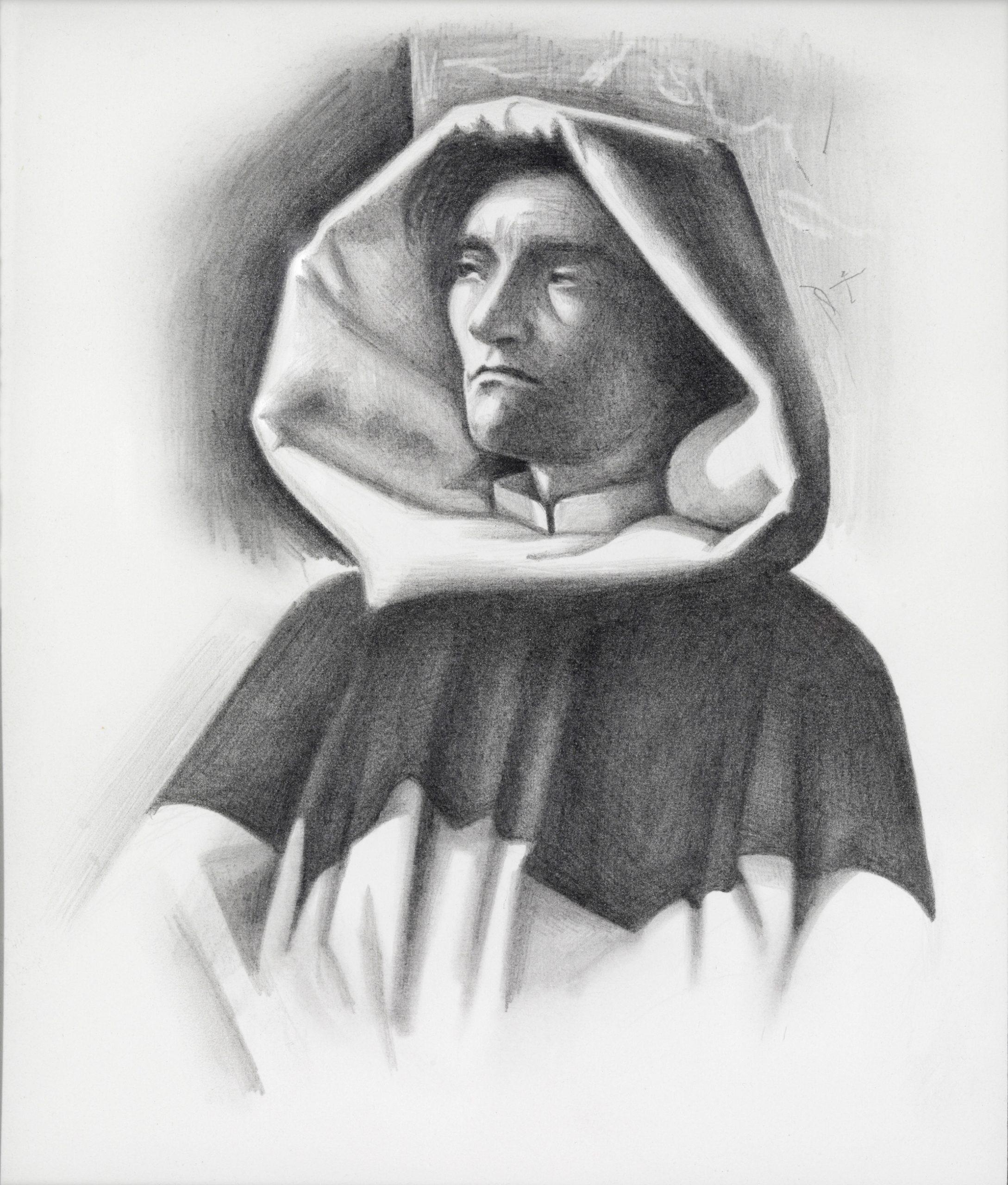 Dennis Scholl Artist Drawing