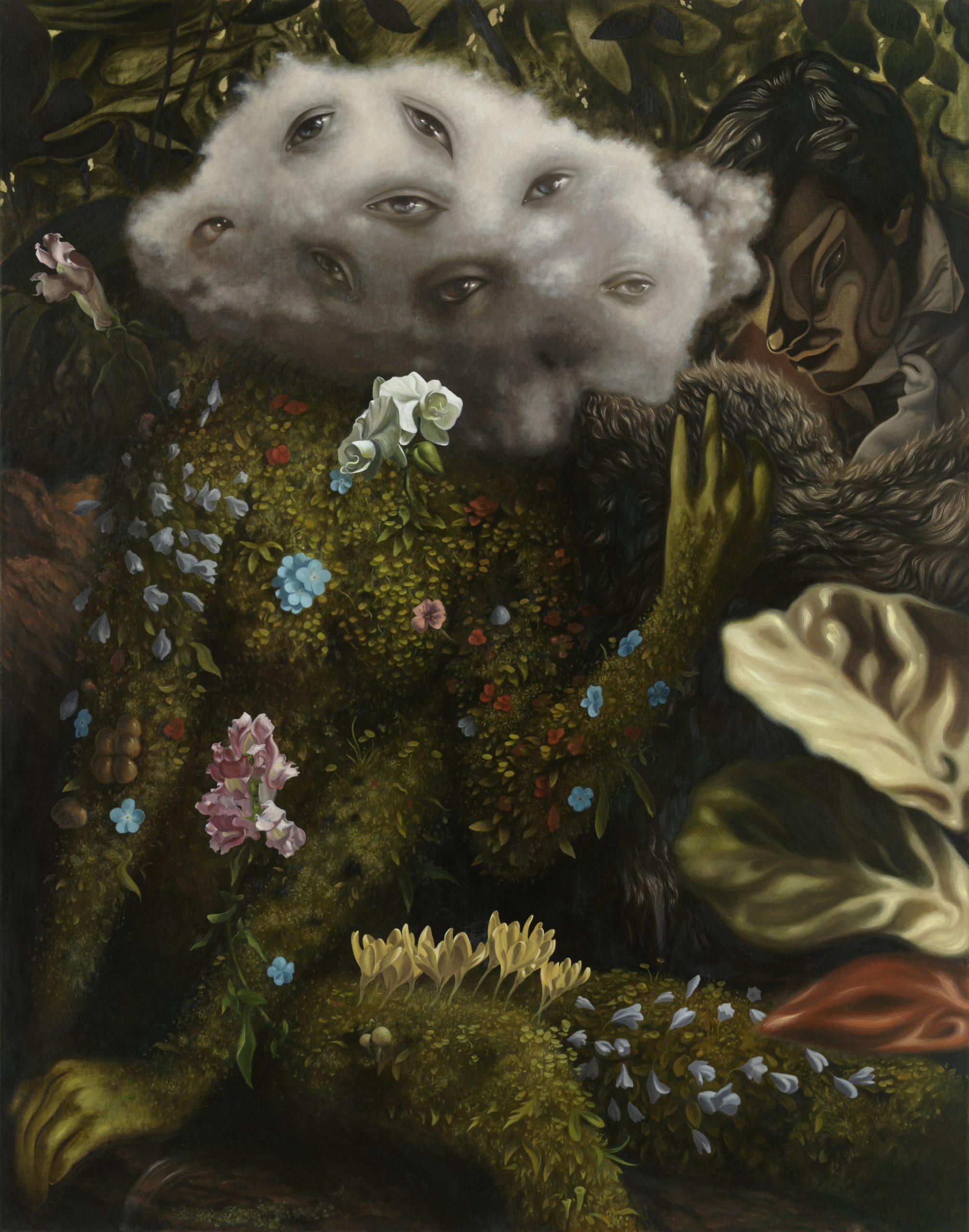 Dennis Scholl Jardin Jaune Artist Painting
