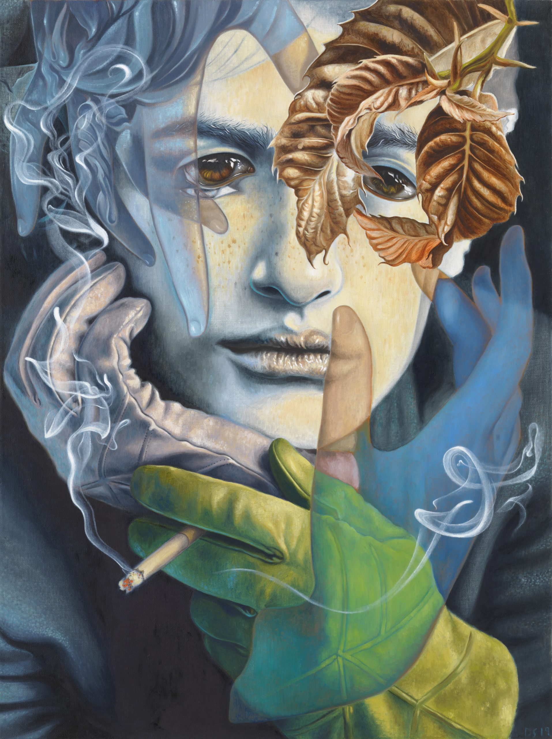 Dennis Scholl Artist Painting