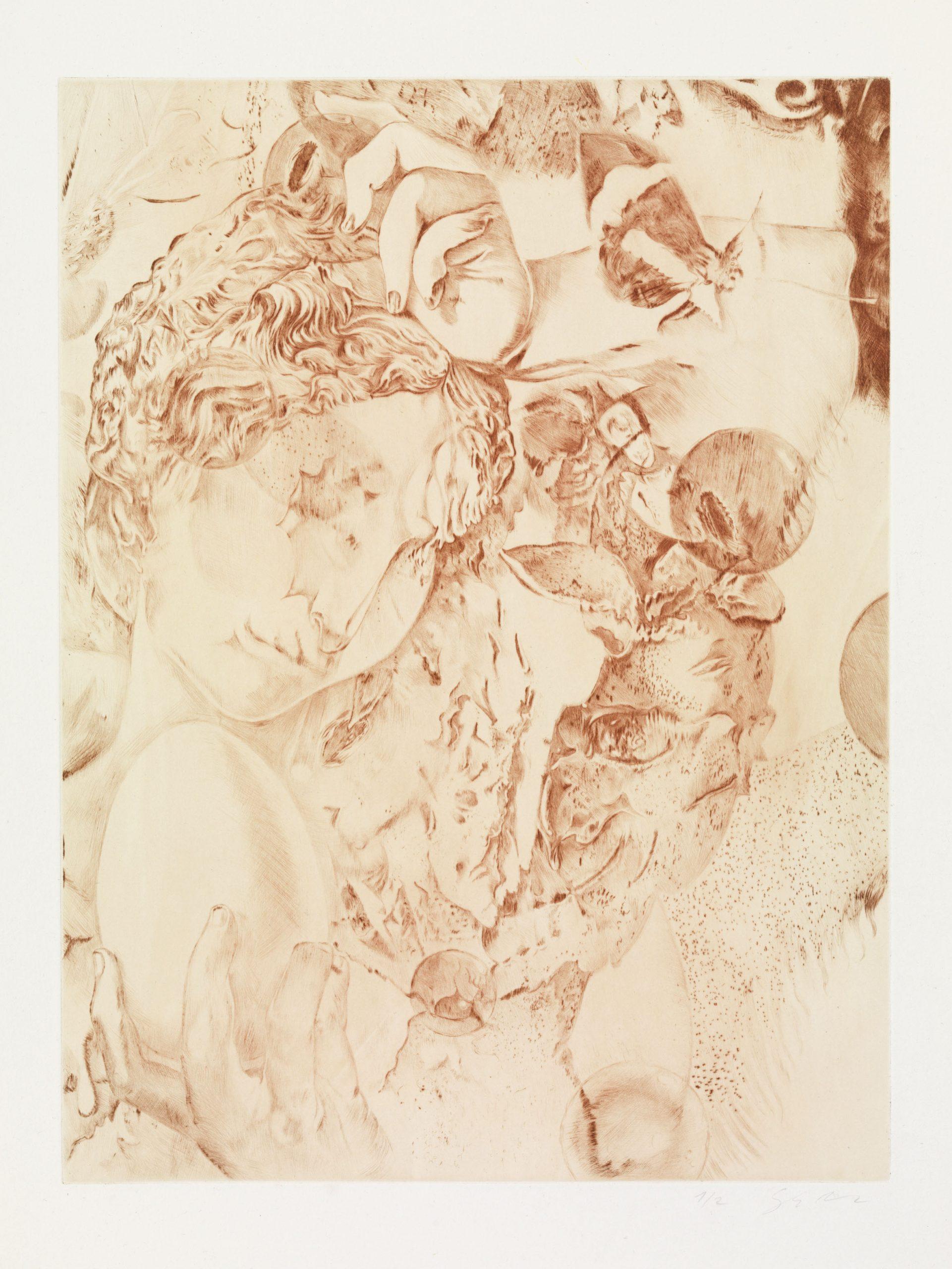 Dennis Scholl Artist Etching
