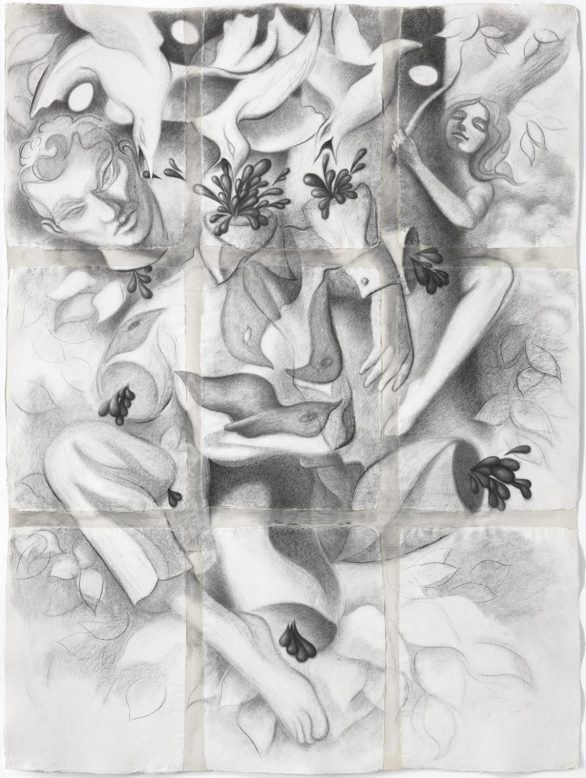 Charcoal Drawing Berlin Artist